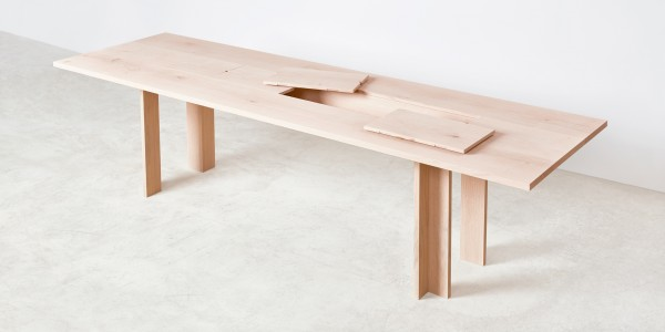 Max Lamb Dining Table Opened