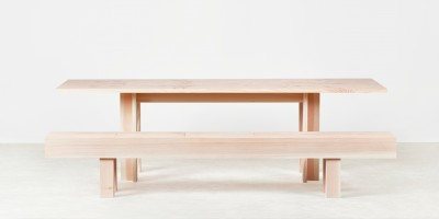 Planks Dining Table & Bench by Max Lamb 2
